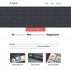10 sexy responsive email templates email pinterest. Black Bedroom Furniture Sets. Home Design Ideas
