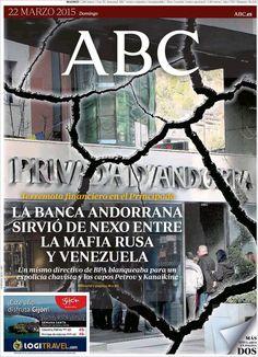 Diario ABC de 22 Marzo 2015 y Recordar que pueden visualizar en vídeos las noticias cada día en http://www.youtube.com/vendopor