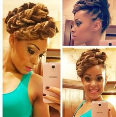 I can try with box braids