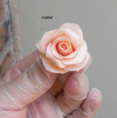 Rosas con caramelos blandos o masticables tipo sugus ~ Pasteles de colores