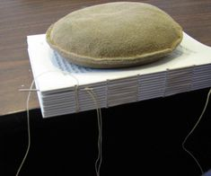 Volcano Arts | The Muse | Bookbinding | Hints from a Bookbinder