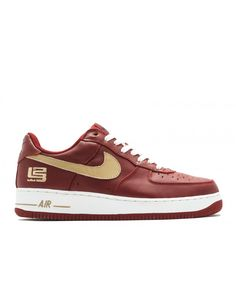 Air Force 1 Low Lebron James Varsity Crimson, Jersey Gold-Coll Navy 306353-671 Air Force 1, Nike Air Force, Mens Trainers, Lebron James, Nike Men, Nike Shoes, Shop Now, Navy, Sneakers