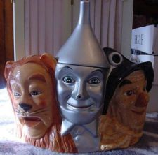 Wizard of Oz cookie jar