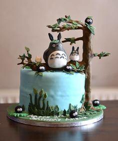 My neighbour Totoro 1st birthday cake