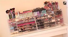 Carli Bybel's Makeup Collection: From http://sherrieblossom.com/component/allvideoshare/video/carli-bybes-makeup-collection