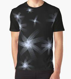 Stars by Silvia Ganora - #tshirts #tees #abstract #apparel #dark