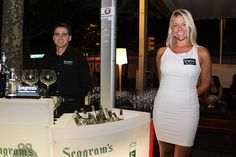 Seagram's Night Party #tonic #summer #cocktails #events