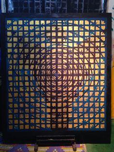 Angel.  137x157cm. TU.AKRİLİK Acrylic on canvas