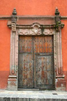 Door at San Miguel de Allende