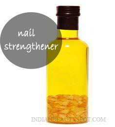 *natural treatment for longer, stronger nails