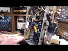 Marconi 201A AM and Shortwave Radio Video #3 - First Capacitor - YouTube