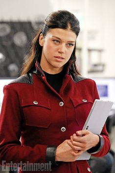 Agents Of S.H.I.E.L.D.: First Look At Adrianne Palicki As Bobbi Morse