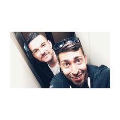 Con Dj Sin en el ascensor más pequeño de Europa.