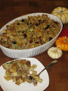 Healthy stuffing under 200 calories.