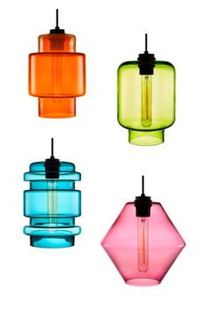 Pendant lights from Niche Modern