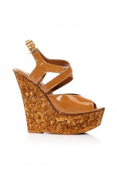 Mon Bel Ange Taba Bianco Deri Topuklu Ayakkabı Lidyana
