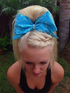cute cheer hair