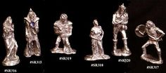 Fantasy Figure Molds for mold making.