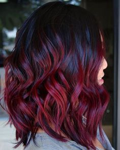 """5,564 Likes, 113 Comments - Allure Magazine (@allure) on Instagram: """"#MulledWine hair is the winter version of pumpkin spice hair. But this hue is anything but basic.…"""""""