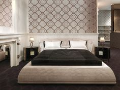 Nella Vetrina offers a selection of the finest designer Italian bedroom furniture. We showcase handmade beds in modern, transitional and traditional styles. Modern Master Bedroom Design, Bed Design, Home, Bedroom Interior, Morden Bedroom, Italian Bedroom Furniture, Italian Bed, Bed, Bedroom Bed Design