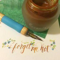 Linda Arandas #contemporary #calligraphy