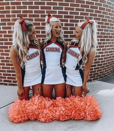 Cheer Uniforms High School Cheerleading Back To School Outfits cheer Cheerleading high School uniforms High School Cheerleading, Cheerleading Cheers, Football Cheer, Cheerleading Pictures, Cheerleading Stunting, Cheer Stunts, Softball Pics, Volleyball Drills, Volleyball Quotes