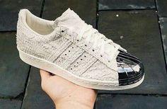 adidas superstar 80s metal toe antique white