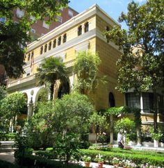 Sorolla Museum, Madrid - was the home of Joaquin Sorolla, Spain's foremost Impressionist painter.  I love his work.