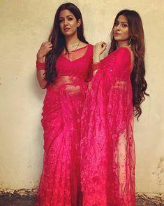 Designer Plain Net Saree With Blouse Design Net Saree Blouse Saree Wearing Styles, Saree Styles, Netted Blouse Designs, Saree Blouse Designs, Net Saree Blouse, Sari, Red Saree, Beautiful Blouses, Beautiful Saree