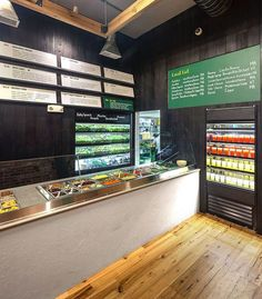 sweetgreen Boston Architectural Photograph Interior