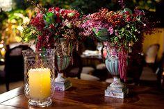 Na decoração: Suculentas, frutinhas, sementes, folhagens e o mínimo de flores possível http://www.constancezahn.com/angelica-david/