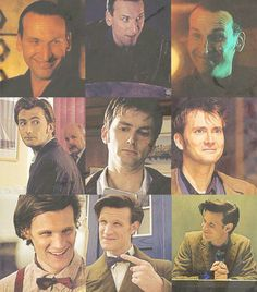 Doctor Who. 9, 10 & 11