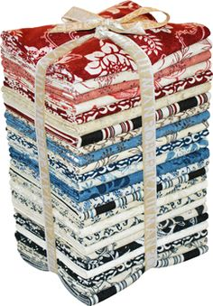 """A La Maison"" fabric line by Terri Conrad for Robert Kaufman Fabrics"