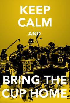 Let's do this, Bruins