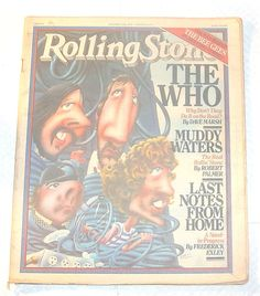 *ROLLING STONE*-OCTOBER 5TH,1978 ISSUE 275 (THE WHO,MUDDY WATERS,BEE GEES)