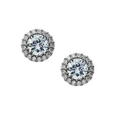 Nina MALIN EARRING SILVER CRYSTAL by Nina Shoes