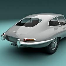 E Type. Jaguar. 1968.
