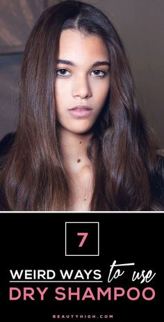 Hair Tip: Dry shampoo can do way more than extend the life of a blowout. Here are 7 other ways to use dry shampoo.