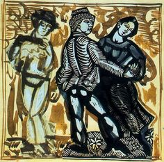 Study of the 'Dance', 1910Raoul Dufy - by style - Naïve Art (Primitivism)