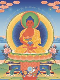 Buddha Amitabha  Known as the 'Vajra Speech Buddha', Amitabha is the…