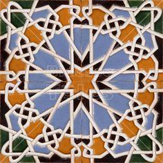 MPXX019 - Moorish Arab Islamic Spanish Patterns Tiles