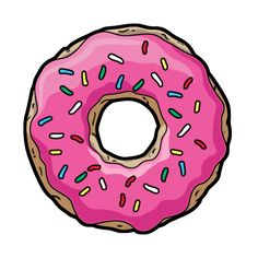 Most popular tags for this image include: donuts, pink, food and transparent