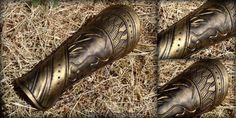 Loki Bracers Mark 2 - Avengers movie costume armor by rassaku.deviantart.com on @deviantART