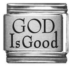 God is Good Laser Italian Charm Religious Poems, Religious Tattoos, Religious Pictures, Religious Gifts, Religious Jewelry, Religious Christmas Cards, Christmas Images, Nomination Charms, God Is Good