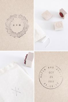 follow studio custom stamps