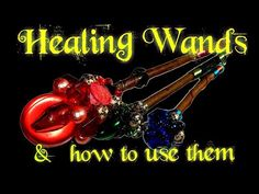 """In this video I demonstrate 3 """"healing"""" wands I made recently and how I use them for an """"aura healing"""" roleplay . Both the """"healing"""" wands and the way to use. Diy Wand, Empathic, Asmr, Being Used, Wands, Witch, Healing, How To Make, Autonomous Sensory Meridian Response"""