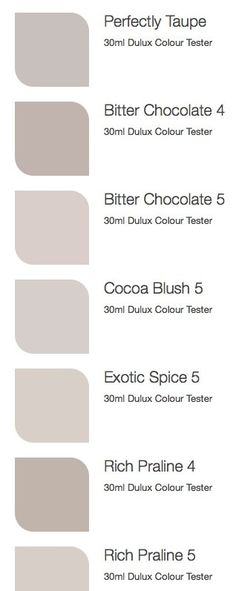 Dulux colours for warm kitchen (if can't stain cupboards) – hallway Wall Colors, House Colors, Paint Colours For Hallway, Basement Colors, Warm Kitchen, Taupe Kitchen, Interior Paint Colors, Dulux Paint Colours Lounge, Dulux Bedroom Colours