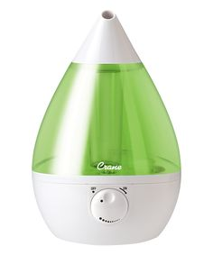 Take a look at this Green & White Crane Teardrop Humidifier today!