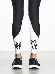 Centrum Legging by CARBON38 X CURTIS KULIG in Black/White