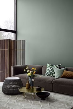 3 Jotun Colors for 2018 - Lush Garden via Eclectic Trends #ColorTrends
